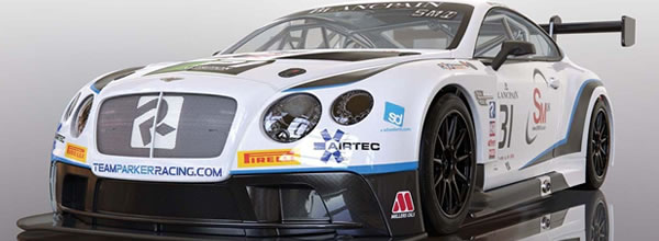 Scalextric : La Bentley Continental GT3 Team Parker Racing Brands Hatch 2018 - C4024