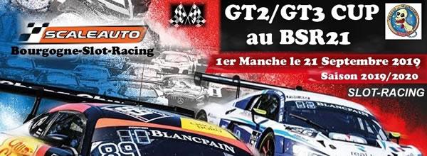 BSR21: GT2/GT3 Cup Scaleauto pour le championnat 2019/2020