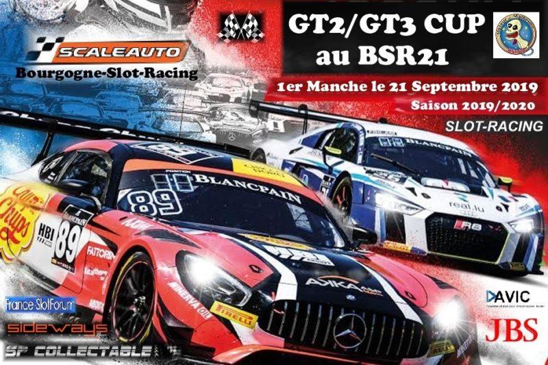 BSR21 GT2GT3 Cup Scaleauto pour le championnat 20192020