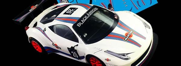 Black Arrow: des nouveaux décalques pour décorer sa GT3 Italia