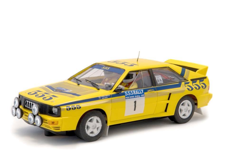F-A2003- Audi Quattro A2 #1 Winner Rally Hong Kong-Beijing 1985 Mikkola Hannu - Hertz Arne