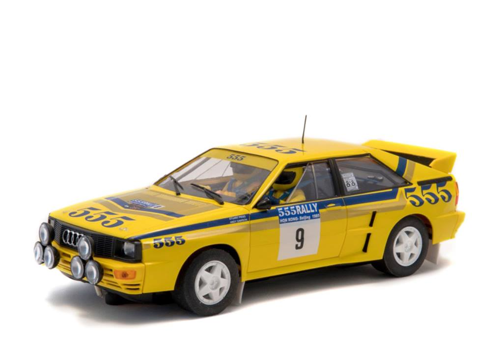 FLY A2004 Audi Quattro A2 #9 - Rally Hong Kong/Beijing 1985 Dawson Andy - Pegg Stuart