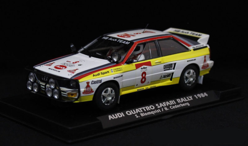FLY E2005 Audi A2 Quattro Safari Rally 1984