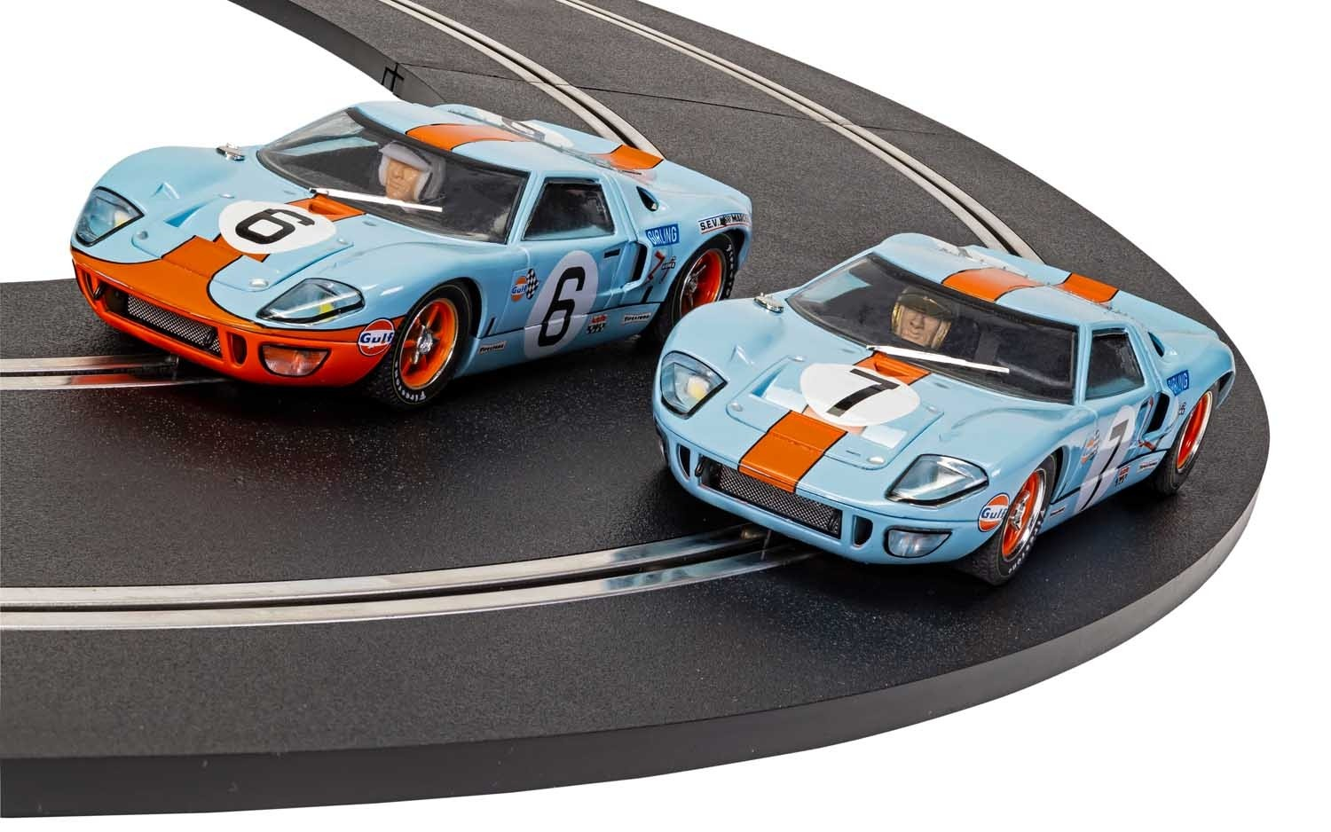 FORD GT40 1969 GULF TWIN PACK - C4041A