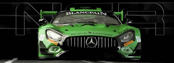 NSR Slot: La Mercedes-AMG - Black Falcon - #6 Monza 2018 - 0108SW