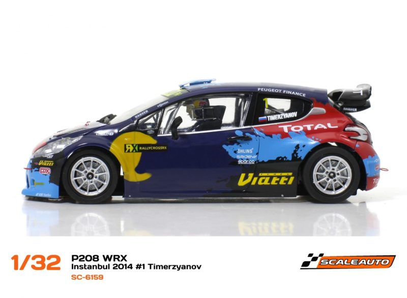 Peugeot 208 T16 WRC INSTANBUL 2014 #1 Timerzyanov – SC-6196