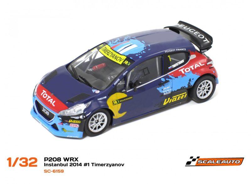 Peugeot 208 T16 WRC INSTANBUL 2014 #3 Hansen – SC-6159