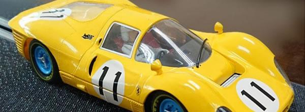 Policar : la Ferrari 412P - n.11 - 1000Km Spa 1967 - CAR06b