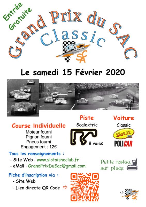 Grand Prix du SAC 2020