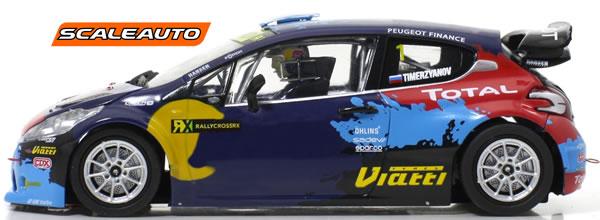 Scaleauto: les deux 208 T16 WRX Team Hansen - Istanbul 2014 #1 & #3