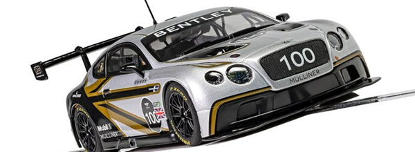 Scalextric Bentley Continental GT3 Centenary Edition
