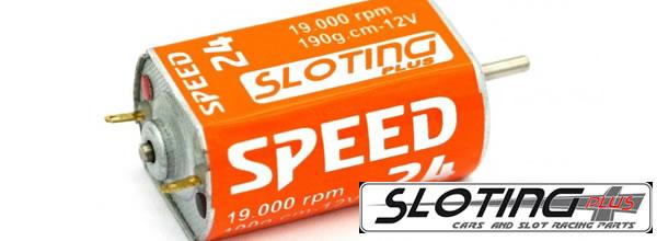 Sloting Plus: Deux nouveaux moteurs éléctriques pour slot cars