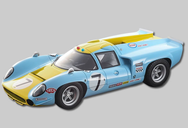 THUNDERSLOT CA00104 - Lola T70 MKIII – 24 Heures du Mans 1968 #7