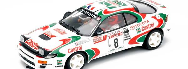 Team Slot: La Toyota Celica GT4 No.8 San Remo 1994 Didier Oriol arrive