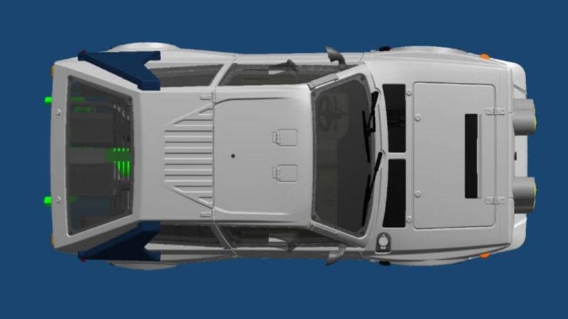 SRC: Des news de la Lancia Delta S4 pour le slot