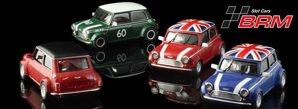"""BRM: La série """"Mini Classic Editions"""" à l'échelle 1/24."""