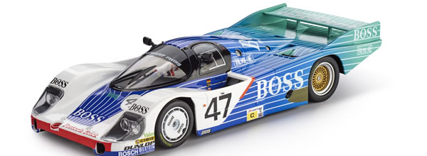 Slot.it : la Porsche 956 LH BOSS Le Mans 1984 SI-CA02I