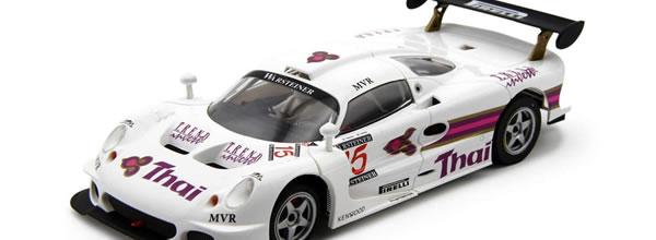 Avant Slot: la Lotus Elise GT1 Spa Francorchamps 97