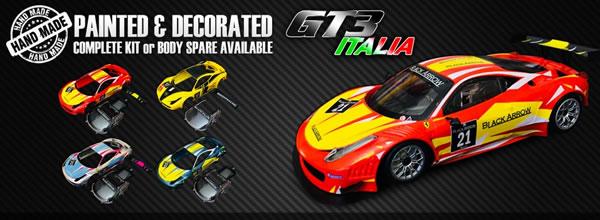 Black Arrow: des nouveaux kits de la GT3 Italia décorés