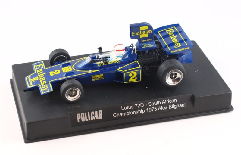 Lotus 72D - #2 South African Championship 1975 - CAR02f - Available from Q1 – 2020