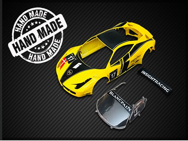 Carrosserie GT3 Italia YELLOW-INSIGHT 17 - BABC02K