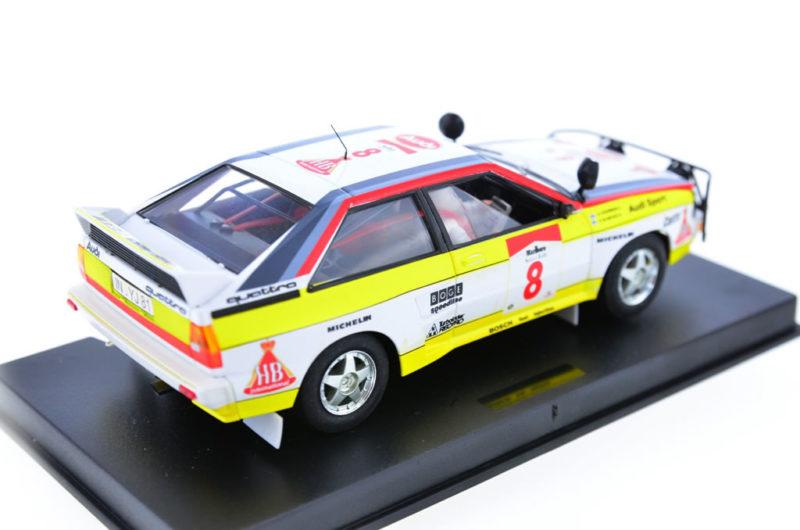Fly Slot: l'Audi Quattro Safari Rallye 1984
