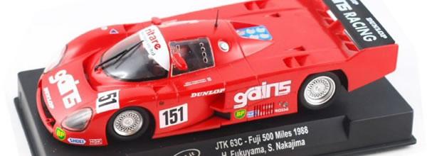 Slot.it : La Toyota JTK 63C – Fuji 500 Miles 1988 CA41B