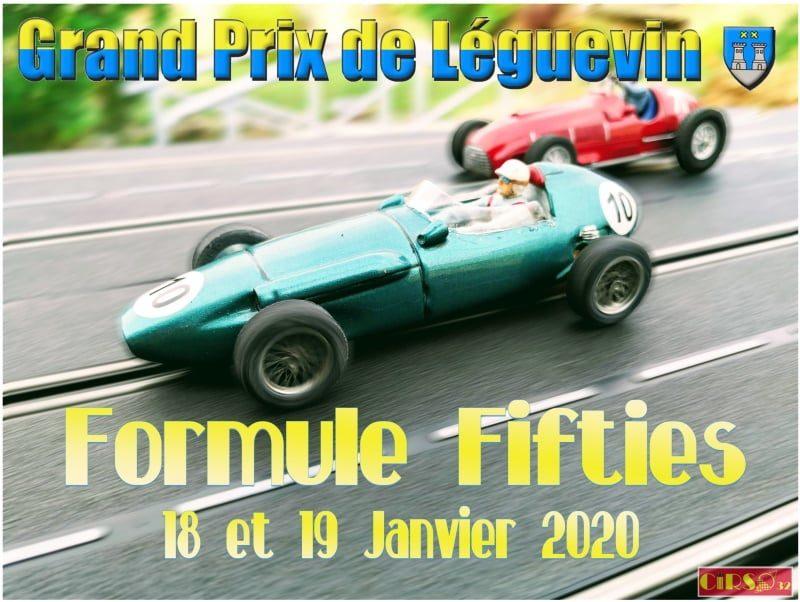 Le grand prix de Léguevin 2020 c'est Formule Fifties