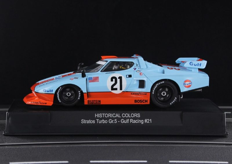 SIDEWAYS LANCIA STRATOS TURBO GR.5 VERSION SPECIAL GULF LIMITED