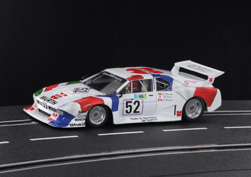 SIDEWAYS SW65 BMW M1 TURBO GR.5 - WURTH TEAM SAUBER LE MANS 24HRS 1981 #52