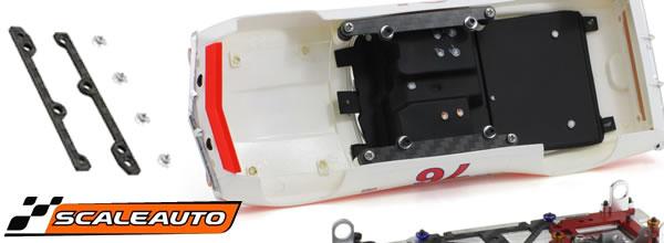 Scaleauto: des supports de carrosserie pour les voitures 1/24 BRM