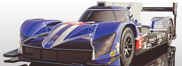 Scalextric: la Ginetta G60-LT-P1 24h le Mans 2018