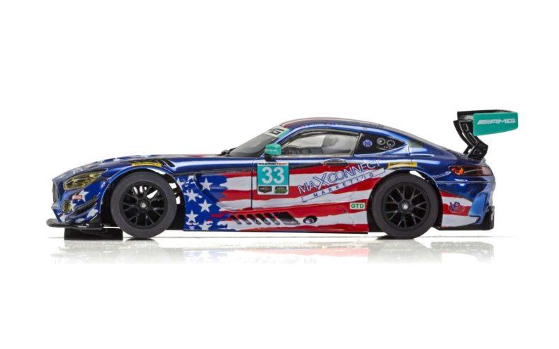 Scalextric la Mercedes AMG GT3, Riley Motorsports Team - C4023