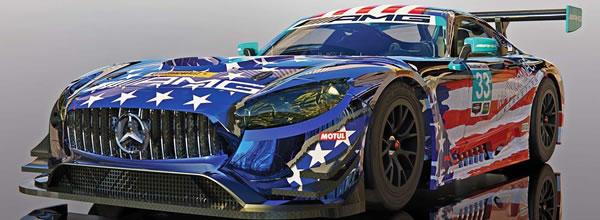 Scalextric: la Mercedes AMG GT3, Riley Motorsports Team – C4023