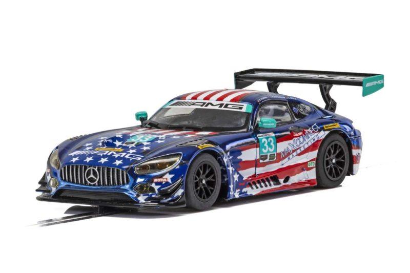 Scalextric: la Mercedes AMG GT3, Riley Motorsports Team - C4023