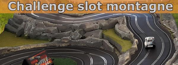 Slot Montagne: la 5è manche lors de la finale de la coupe montagne de course de côte échelle 1