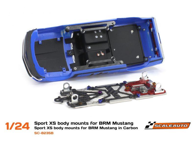 SC-8235 Support de carrosserie châssis Sport XS pour Ford Mustang BRM.