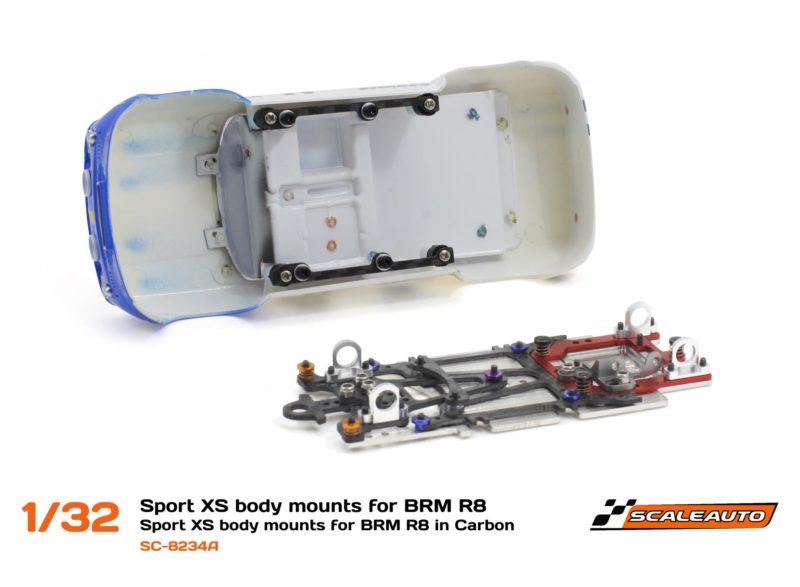 SC-8234 Support de carrosserie châssis Sport XS pour R8 Gordini BRM.