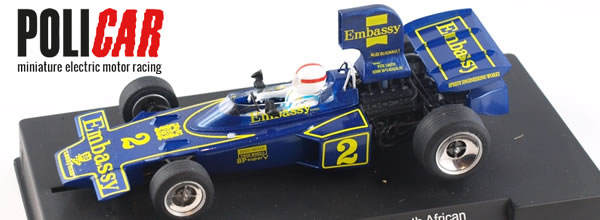 Policar la Lotus 72D Embassy South African Championship 75