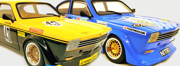 BRM: Deux Opel Kadett 1/24 en approche