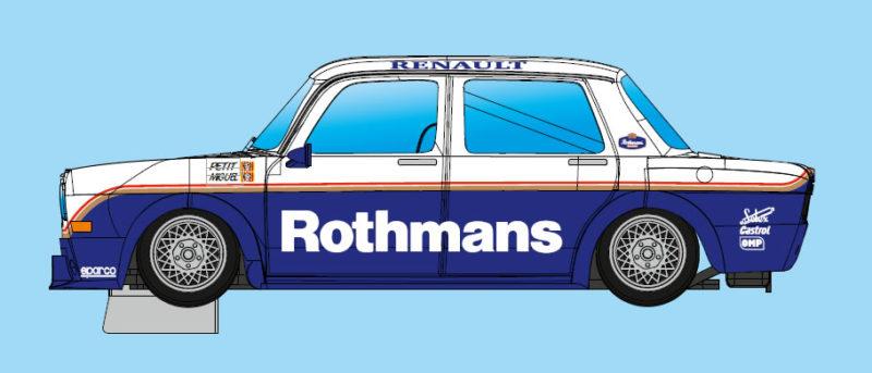 BRM: Une nouvelle livrée Rothmans Version pour la Simca 1000 Gr2