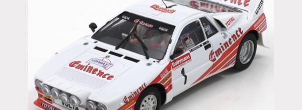 Fly Slot: la Lancia 037 Eminence tour auto 1983