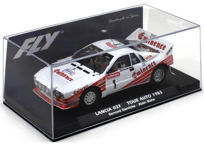 Fly Slot la Lancia 037 Eminence tour auto 1983