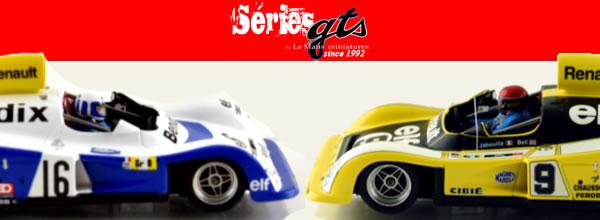 Le Mans miniatures: Deux Renault Alpine A442 le Mans 77