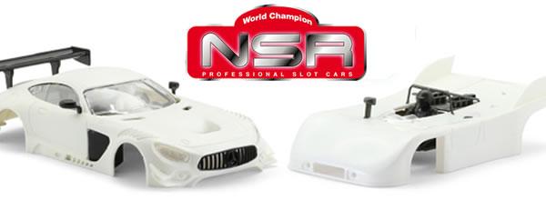 NSR Slot: les kits blancs de la Mercedes GT3 et la Porsche 908/3 V2