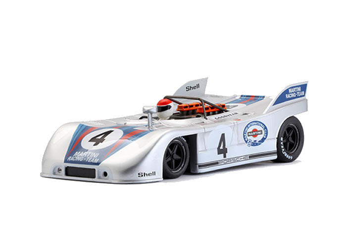 Porsche 908/03 #4 - Martini Racing Team - résultat 3e - pilotes Gijs van Lennep (NL)/Helmut Marko (A)