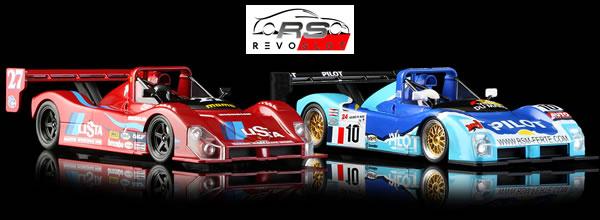Revoslot: les premières Ferrari 333 SP arrivent