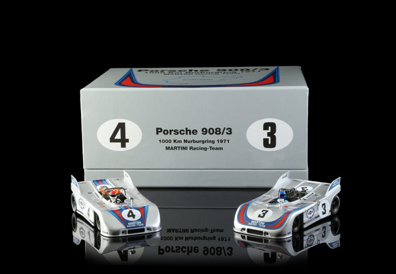 NSR Slot : le coffret Porsche 908/3 – Martini Racing – Nurburgring 1971