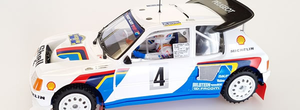 SRC: Peugeot 205 T16 EVO2 rallye de Suède 1986 - SRC03704