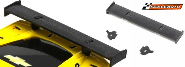 Scaleauto: des ailerons souples en caoutchouc pour les GT3